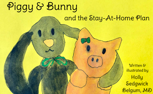 Piggy & Bunny and the Stay-At-Home Plan